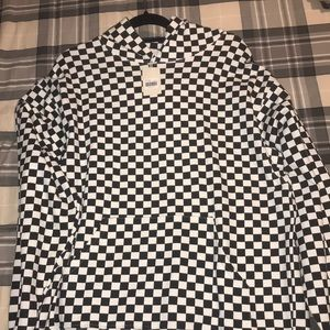 Other - Pullover All over Print Checkered Hoodie